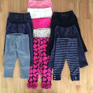 ✨MOVING SALE✨18 Month Legging/Pant Bundle